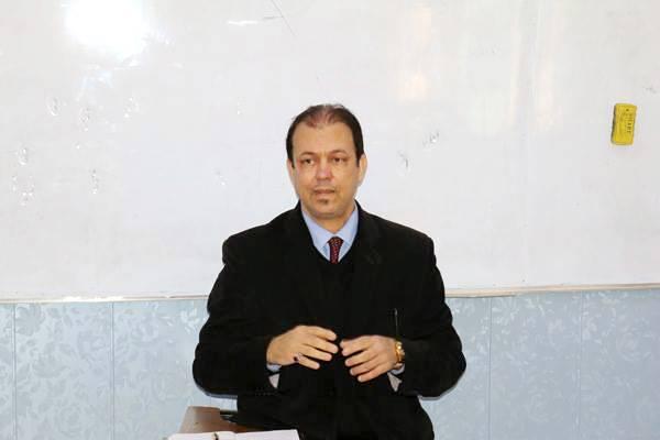 رئيس قسم الآثار يلقي محاضرة عن التوعية الآثارية