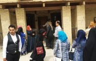 كلية الآثار تقيم سفرة علمية الى قصر الملك غازي