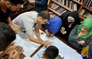محاضرة اليوم …  تعلم الكتابة المسمارية على الطين للمدرس المساعد حيدر عقيل / دروس عملية