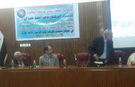 """الدكتور محمد سياب محان  في ندوة """"مراكز الحضارة  في جنوب العراق """""""