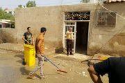 حملة تنظيف في كلية الاثار