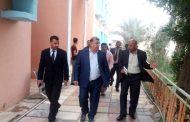 مساعد رئيس جامعة القادسية للشؤون الإدارية الدكتور عادل تركي يزور كلية الآثار