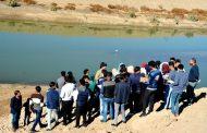 كلية الآثار تقيم رحلة علمية ميدانية الى مجرى نهر الرماحية القديم والمواقع الأثرية الواقعة عليه
