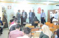 اللجنة المركزية تتفقد سير الامتحانات في كلية الاثار