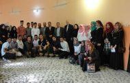 كلية الاداب تنظم عمل تطوعي لزيارة دار المسنين في الديوانية