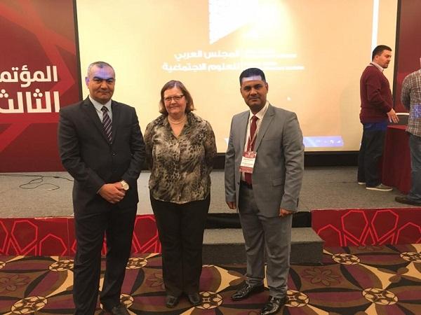 مشاركة د.ثائر رحيم كاظم في مؤتمر المجلس العربي للعلوم الاجتماعية (لبنان)