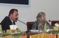 لقاء السيدة رئيس جامعة القادسية بالكوادر التدريسية لكلية الآداب