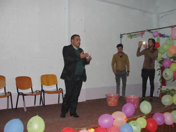 كلية الاداب تقيم برنامج (حملة فرحة الطفل اليتيم   )