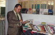 كلية الآداب بجامعة القادسية تقيم معرضاً علمياً ومتنوعاً للكتاب بالتعاون مع مكتبة  ولاء العلمية