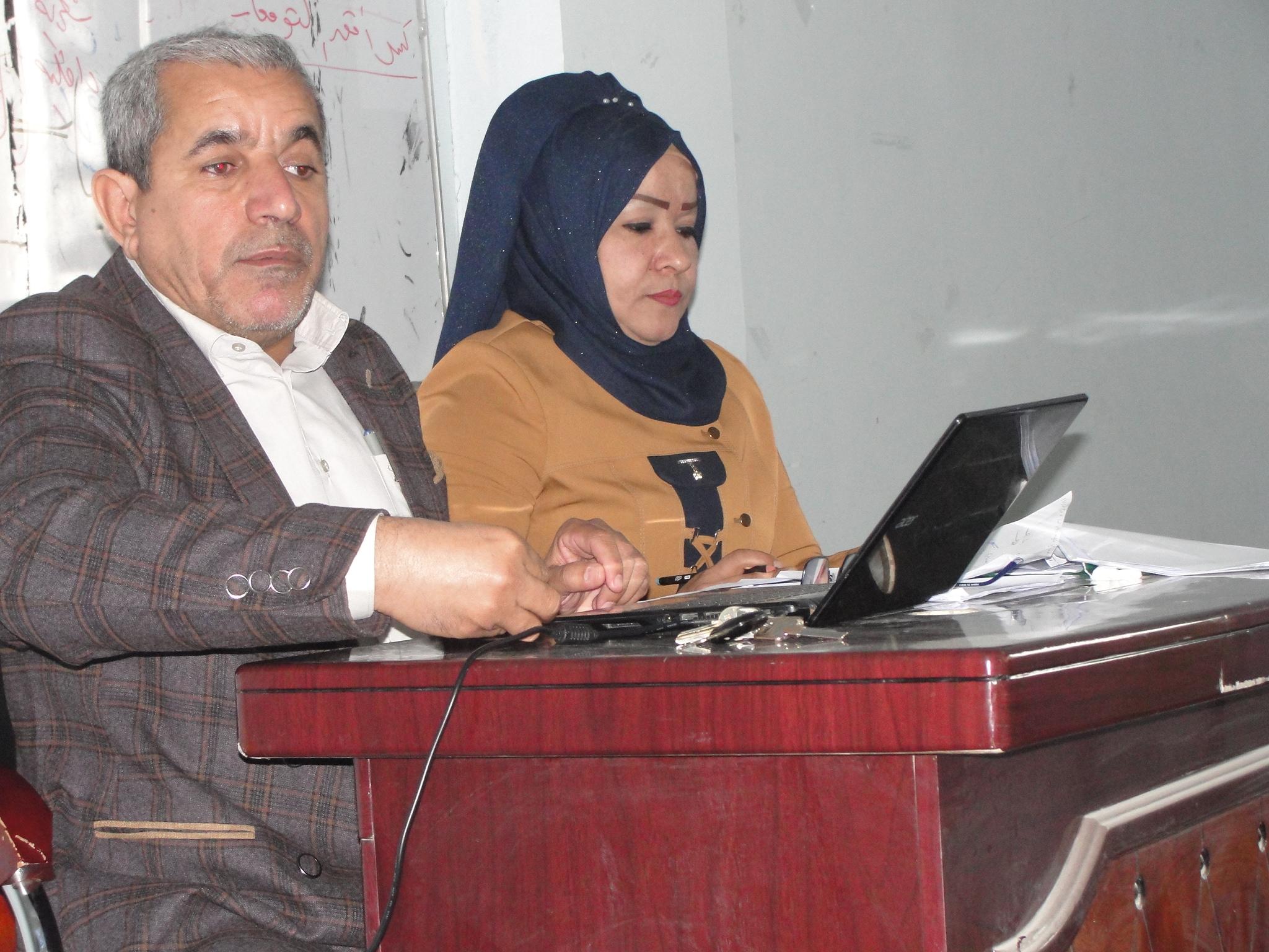 كلية الآداب بجامعة القادسية تقيم ورشة عمل بعنوان الجودة في التعليم الجامعي