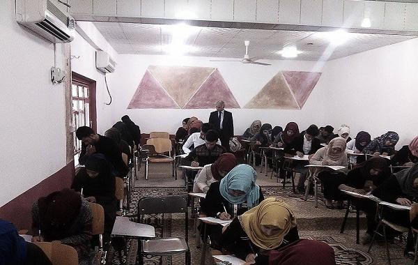 بدأ امتحانات المواد العملي للفصل الاول