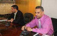 الاجتماع الاول لاعضاء نقابة الاكاديميين العراقيين في كلية التقانات الاحيائية