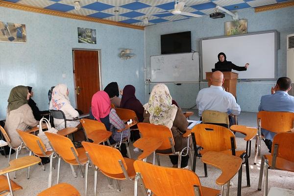 أقامت كلية التقانات الاحيائية دورة علمية عن تقنية الإليزا