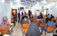 تفقدت السيدة رئيس جامعة القادسية الاستاذ الدكتور (فردوس عباس جابر الطريحي) القاعات الامتحانية في كلية التقانات الاحيائية