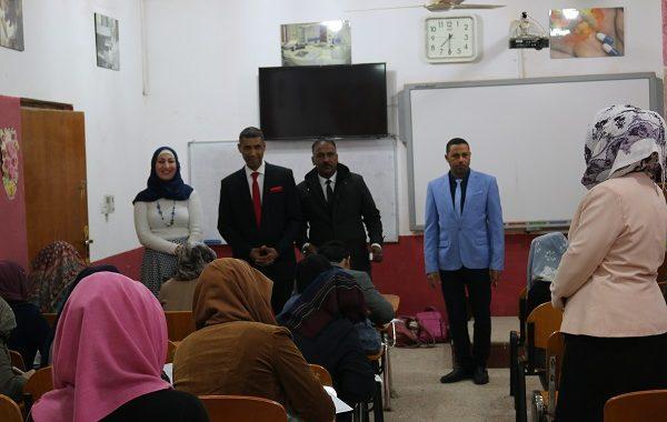 بدأ الامتحانات النهائية/الكورس الاول/ لكلية التقانات الاحيائية / جامعة القادسية