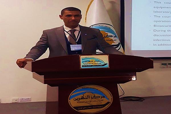 حصول السيد عميد كلية التقانات الاحيائية أ.م.د. محمد عبد الوهاب العسكري المحترم على شهادة تقديرية