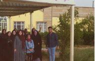 نظمت كلية التقانات الاحيائية/ جامعة القادسية زيارة دار الدولة لرعية الزهور في الديوانية