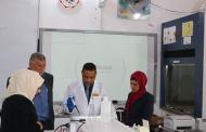 كلية التقانات الاحيائية في جامعة القادسية تقيم دورة تدريبية حول تقنية الترحيل الكهربائي للحامض النووي
