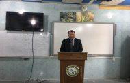 نظمت كلية التقانات الإحيائية في جامعة القادسية حلقة نقاشية عن الحمية الكيتونية، بمشاركة تدريسيي الكلية.