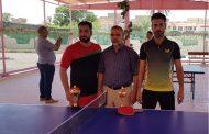 قسم النشاطات الطلابية في جامعة القادسية ينظم بطولة الجامعة بتنس الطاولة