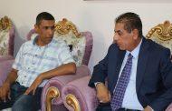 السيد رئيس جامعة القادسية يزور كلية التقانات الاحيائية