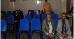 مناقشة طالب الماجستير سلام محمد غازي