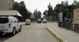 الشارع الرئيسي للكلية