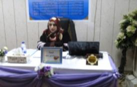 مناقشة طالبة الماجستير(سناء نور محمد )