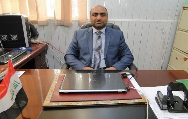 تهنئة للدكتور احسان جبار كاظم بمناسبة حصوله على شهادة الدكتوراه
