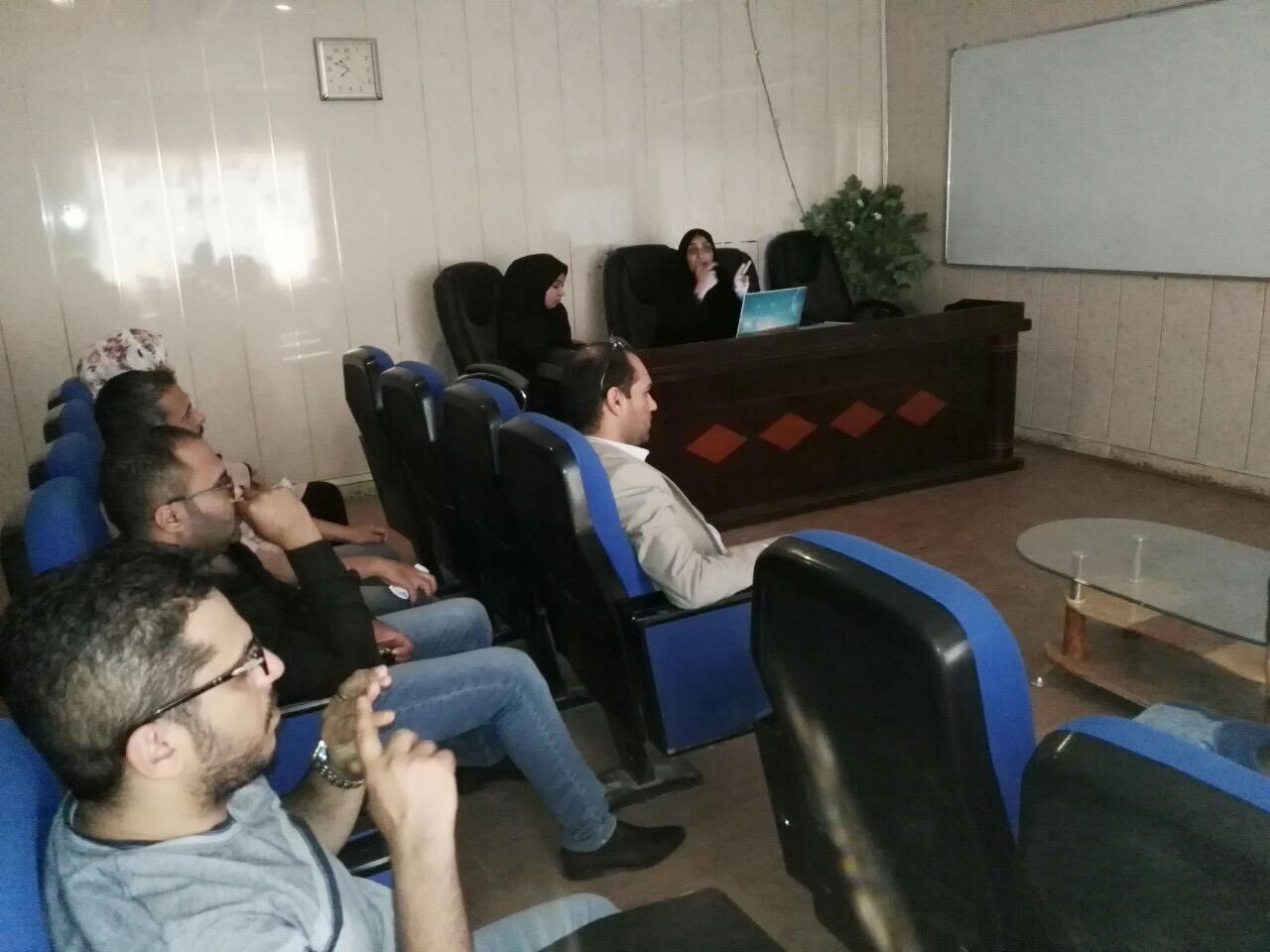 أقام قسم الوسائط المتعددة في كلية علوم الحاسوب وتكنولوجيا المعلومات ورشة عمل حول (الية عمل نظام المقررات)