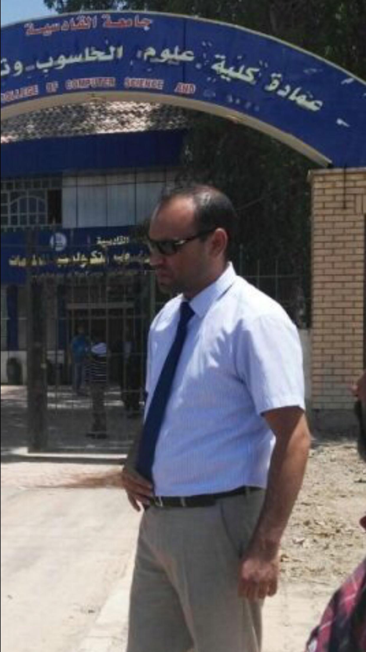 تهنئة  للأستاذ المساعد الدكتور منتصر جابر جواد بمناسبة تسنمه منصب عميد كلية علوم الحاسوب وتكنولوجيا المعلومات
