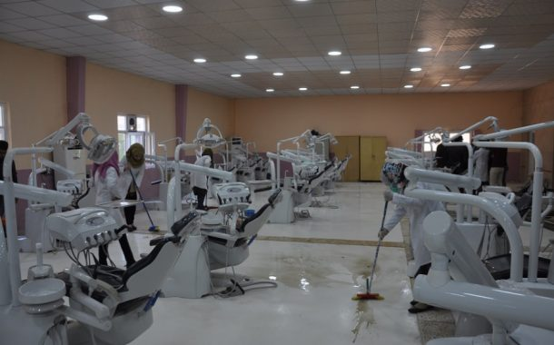 College of Dentistry carried out a number of works within a week of voluntary work