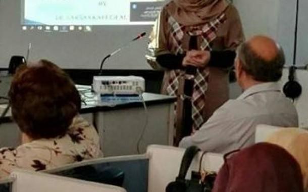 نـــدوات *مشاركــة ا.م.د سوسن كريم الساعدي في ندوة جامعة بغداد *