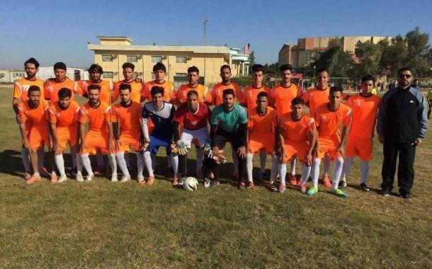 مبروك لفريق كلية التربية بكرة القدم...