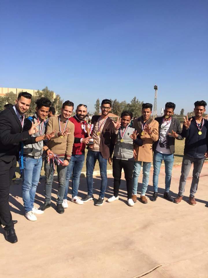 مبارك فوز فريق كلية التربية