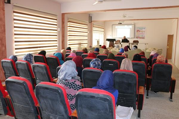 محاضرة تثقيفية بعنوان (الوعي بأهداف النهضة الحسينية وأثره على واقعنا الاجتماعي)