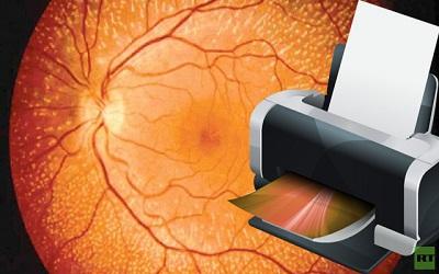 علماء يطبعون خلايا جديدة يمكنها علاج فقدان البصر