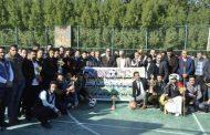 كلية الهندسة تنظم وقفة تضامنية مع وزارة الشباب والرياضة العراقية