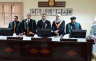 ا.م.د. باسم حسن شناوه يناقش رسالة الماجستير في الجامعة المستنصرية