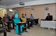 انعقاد ورشة عمل عن المبادلات الحرارية في كلية الهندسة جامعة القادسية