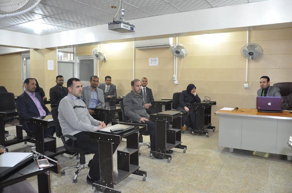 عقد ورشة عمل في كلية الهندسة للتعريف حول نشر البحوث في قاعدة بيانات سكوباس وثومسن رويترز
