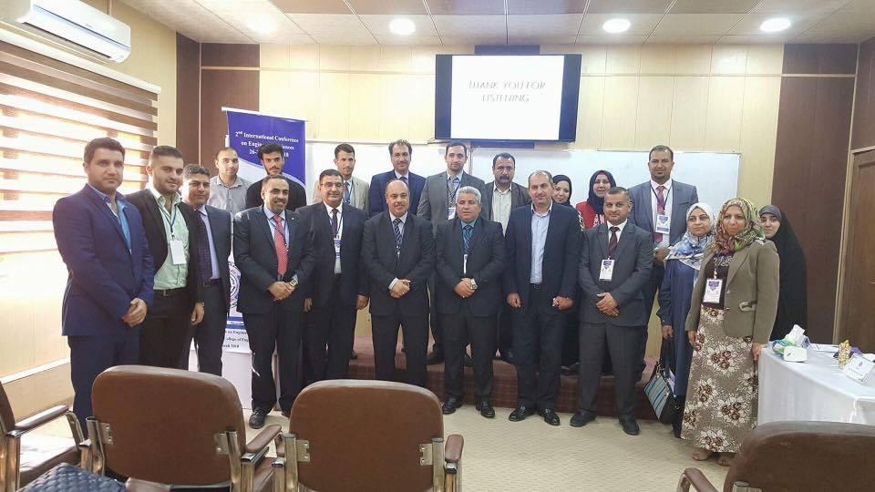 كلية الهندسة تتواصل مع المؤتمر الدولي الثاني في جامعة كربلاء