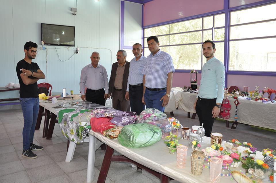 افتتاح بازار الابداع في كلية الهندسة افتتح قسم الهندسة الكيمياوية في كلية الهندسة