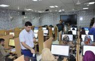 انطلاق امتحان الفصل الدراسي الثاني لطلبة الدراسات العليا ( الماجستير ) في كلية الهندسة