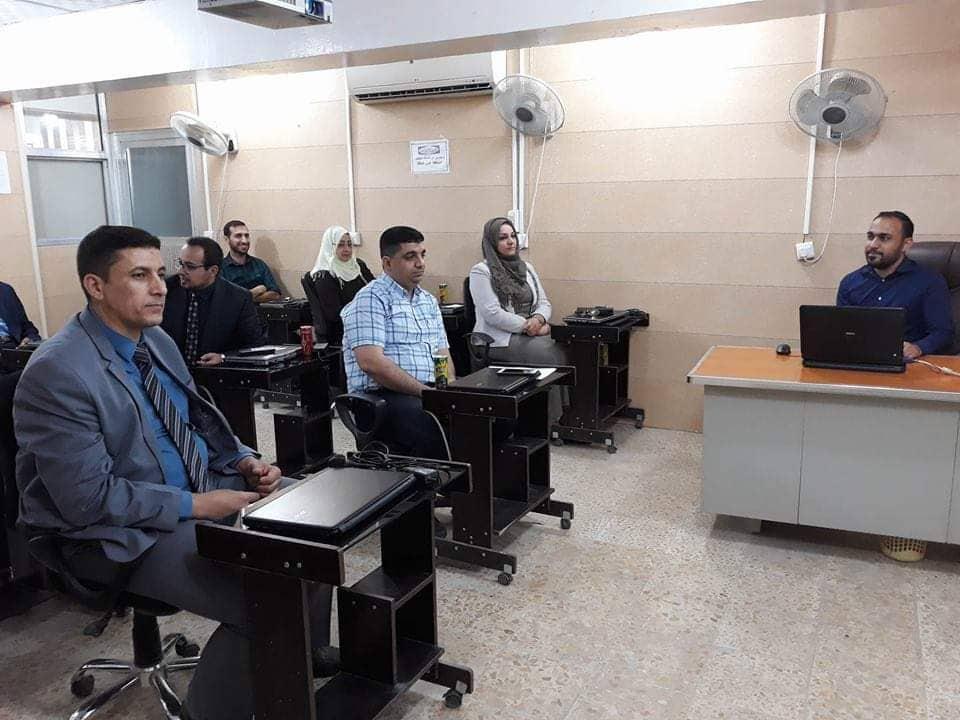 كلية الهندسة تعقد ورشة علمية بعنوان ( مقدمة لاستخدام تقنية التصوير الرقمي في الفحوص المختبرية )