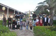 كلية الهندسة تستضيف مجموعة من أطفال مؤسسة اليتيم الخيرية