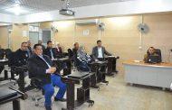 كلية الهندسة تقيم ورشة علمية حول عملية عمق النحر خلف ناظم الشامية