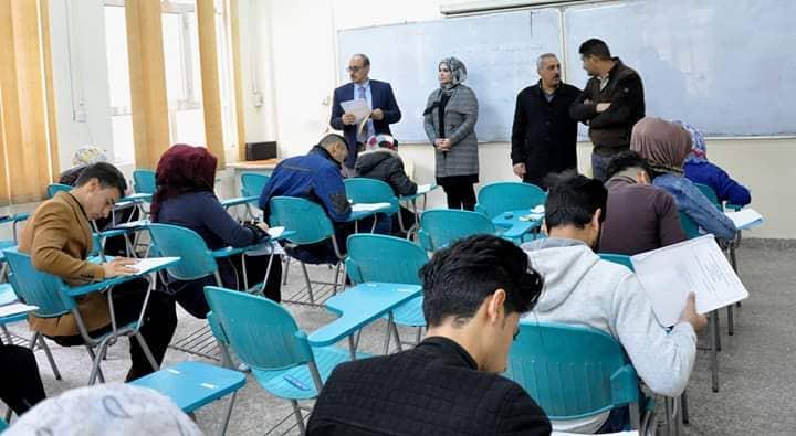 انطلاق امتحانات الكورس الأول في كلية الهندسة