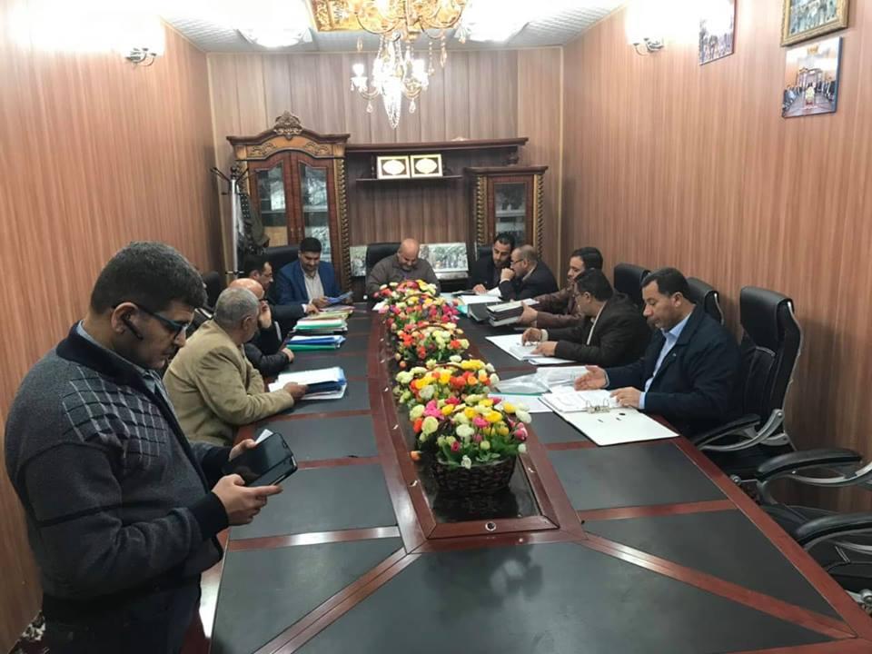 اللجنة الوزارية لتدقيق المختبرات تشيد بجودة واعتمادية المختبرات في كلية الهندسة