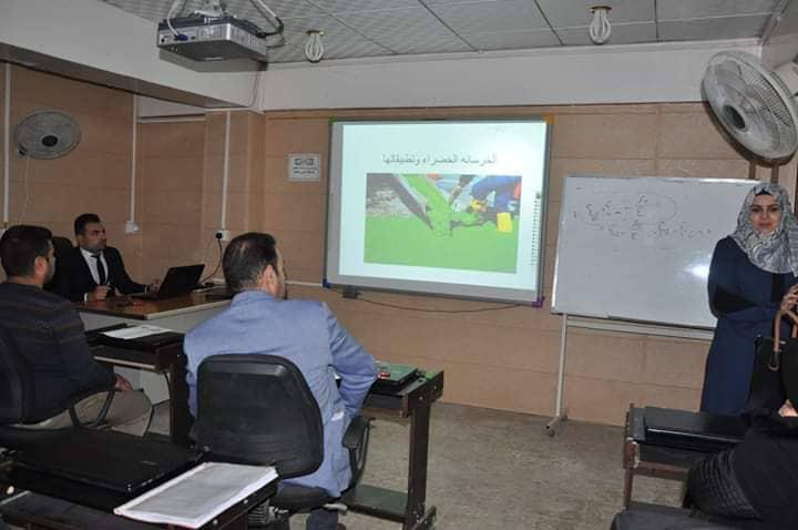 كلية الهندسة تعقد ورشة علمية عن الخرسانة الخضراء وتطبيقاتها العملية
